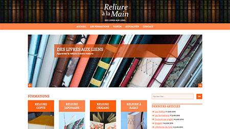 Reliure à la main - 17Pixel.com