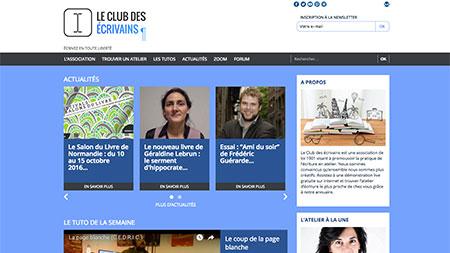Le Club des écrivains - 17Pixel.com