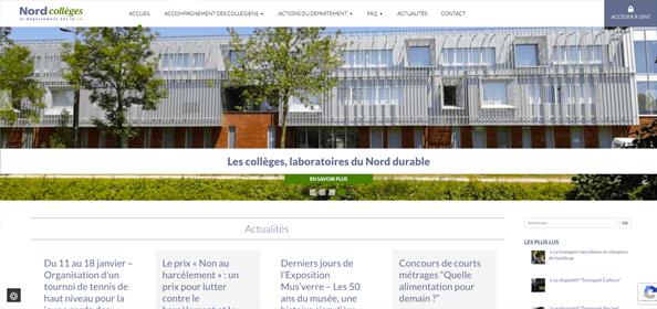 Nord Collèges ENTHDF - 17pixel.com